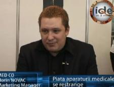 Florin Novac: piata aparaturii medicale se restrange.