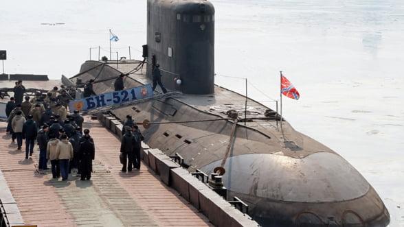 Flota rusa din Marea Neagra primeste inca doua submarine de ultima generatie din clasa Kilo