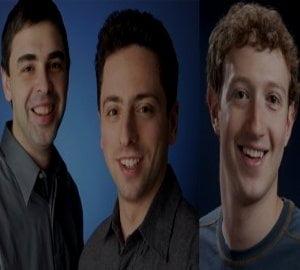 """Fondatorul Facebook, mai bogat decat """"parintii Google"""". Vezi topul complet"""