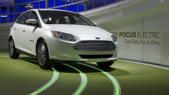 Ford: Prima masina electrica vine si cu prima aplicatie pentru mobil (Video)