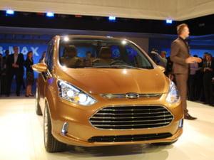 Ford B-Max, produs in Romania, a fost prezentat la Geneva