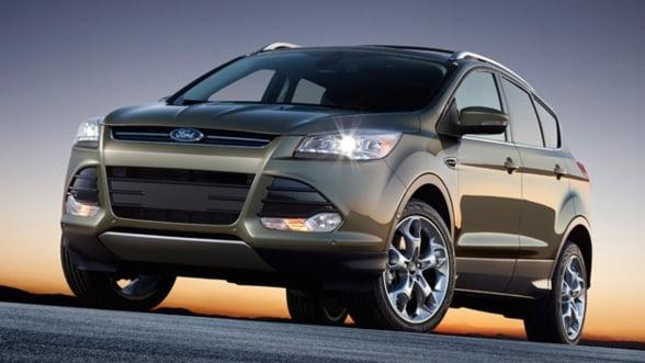 Ford Motor recheama in service peste 10 mii de modele Escape SUV 2013