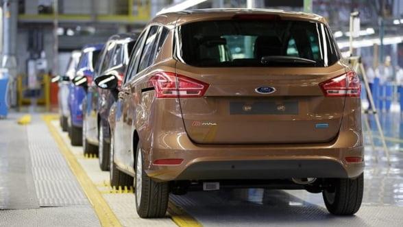 Ford Romania a intrat pe profit, dupa ce afacerile s-au dublat anul trecut