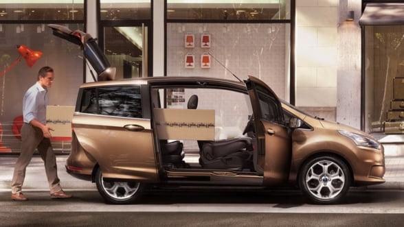 Ford a demarat productia B-MAX la Craiova. Va produce un motor in plus