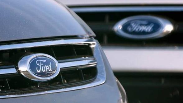 Ford inchide 2 fabrici din Anglia: 1.500 de angajati vor fi concediati