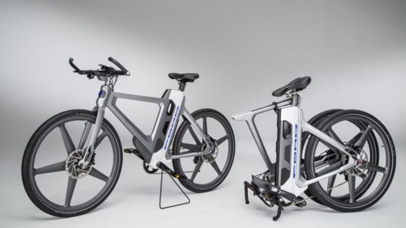 Ford iti propune bicicleta electrica pliabila