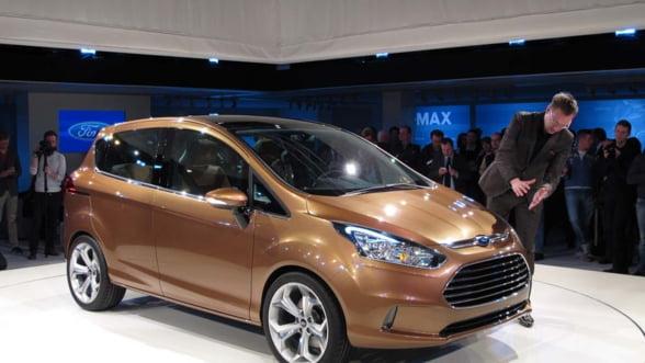 Ford lanseaza joi in Romania noul model B-Max