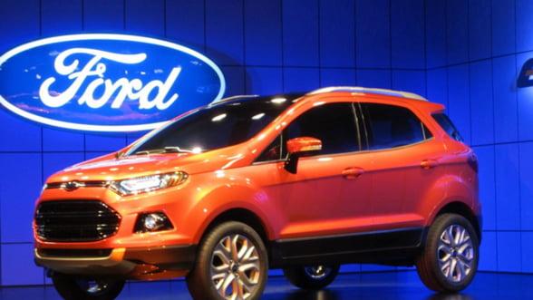 Ford mizeaza pe modele noi pentru a reduce pierderile in Europa