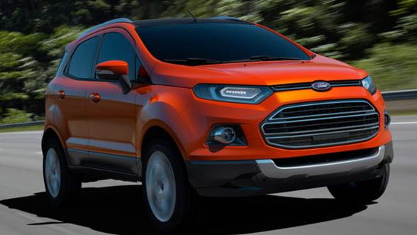 Ford prefera sa produca EcoSport in India decat la Craiova