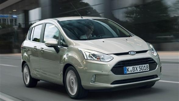 Ford pune in vanzare modelul B-MAX in Romania