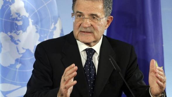 Fostul premier Romano Prodi, propus pentru presedintia Italiei
