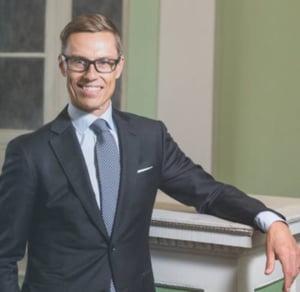 Fostul premier al Finlandei Alexander Stubb isi anunta candidatura la presedintia Comisiei Europene