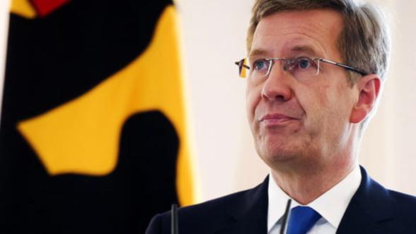 """Fostul presedinte al Germaniei, Christian Wulff, in fata justitiei pentru un """"cadou"""" de 700 de euro"""