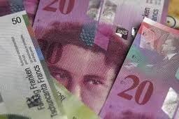 Francul elvetian, la un nou maxim istoric: 4,0865 lei