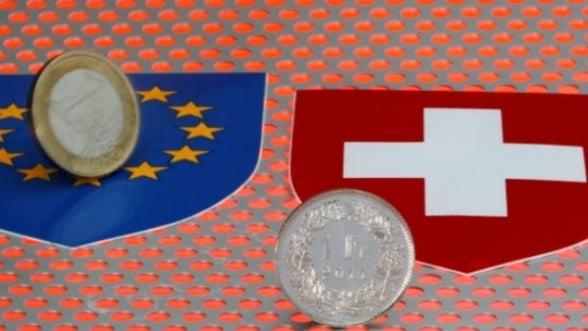 Francul s-a stabilizat peste euro pe pietele externe