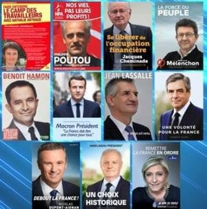 Franta este debusolata inaintea alegerilor
