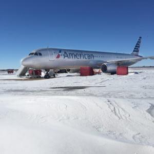 Furtuna de zapada in SUA: Sute de zboruri anulate