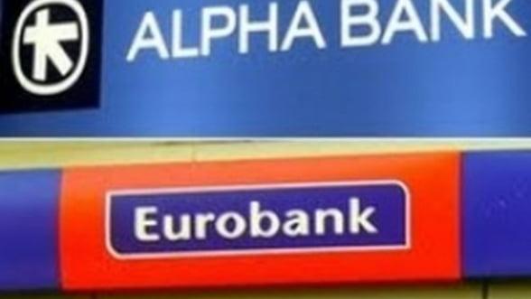 Fuziunea Alpha Bank - EFG Eurobank ar putea fi intarziata
