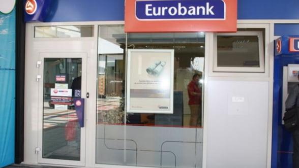 Fuziunea Eurobank cu National Bank of Greece a fost confirmata