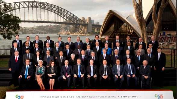 G20 propune un sistem de salvare in industria financiara, pe banii bancilor, nu ai populatiei