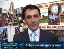 Gabriel Roman: de la pastravarie la agentie de turism
