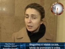 Gabriela Lungu: blogosfera si retelele sociale, tehnici de promovare in online