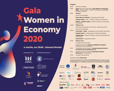 Gala Women in Economy 2020 premiaza excelenta in business