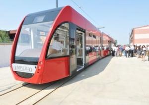 Galatiul cumpara tramvaie cu aer conditionat, fabricate la Arad