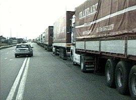 Garda Financiara: amenzi de 430.000 euro transportatorilor de marfuri, 2011