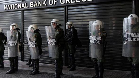Gata cu joaca! Bancile grecesti, la un pas de insolventa