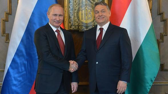 Gazele lui Putin incalzesc Budapesta: Orban, de partea Rusiei