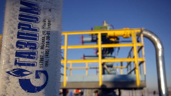 Gazprom acuza Ucraina de neplata unei facturi de 882 de milioane de dolari la gaze