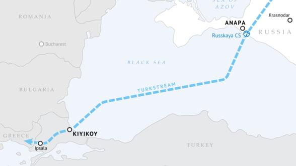 Gazprom trage tare de proiectul Turkish Stream: In 2019 trebuie sa fie gata!
