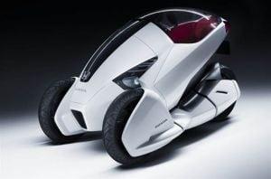 Geneva 2010: Honda va lansa 3R-C, un concept cu trei roti