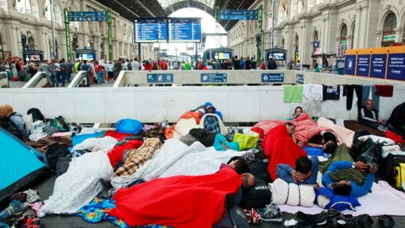 Germania cere alocarea a 10% din bugetul UE pentru refugiati