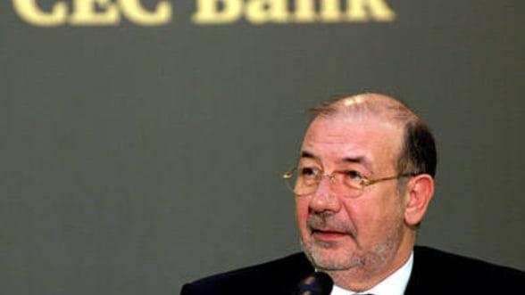 Ghetea: Renuntarea la capitalizarea profitului CEC Bank, o eroare