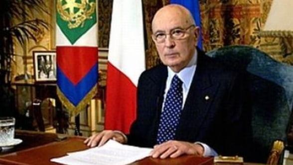 Giorgio Napolitano: Italia nu poate depasi problemele economice fara contributia imigrantilor