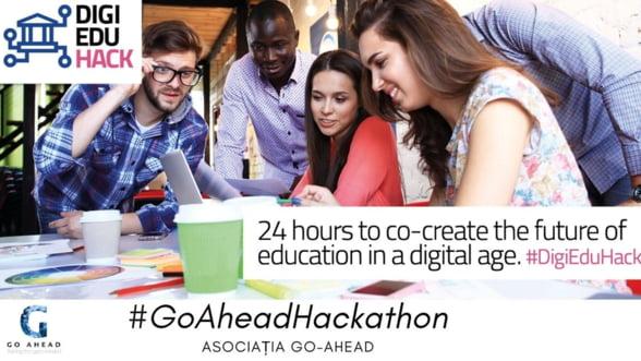 GoAheadHackaton - 24 de ore pentru identificarea de noi solutii pentru educatia viitorului, in cadrul initiativei DigiEduHack