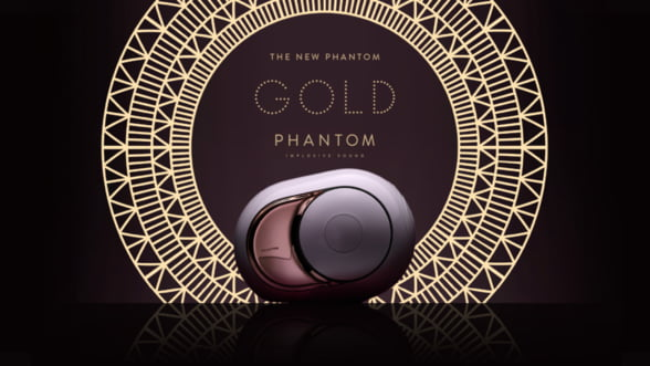 Gold Phantom, sistemul audio care iti ravaseste simturile