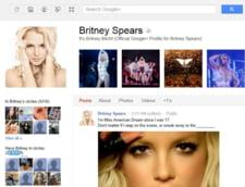 Google+: Britney Spears, cel mai urmarit utilizator