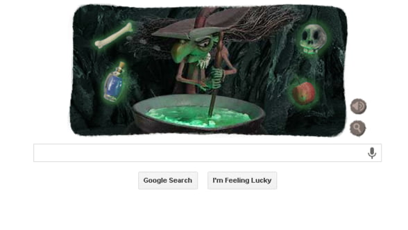 """Google """"a imbracat"""" straie de Halloween"""