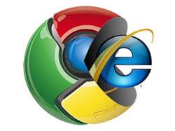 Google Chrome, mai tare ca Internet Explorer, in SUA