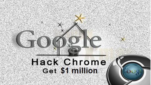 Google Chrome, spart pentru prima data de hackeri