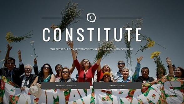 """Google a lansat """"Portalul Constitutiilor"""" din toata lumea"""