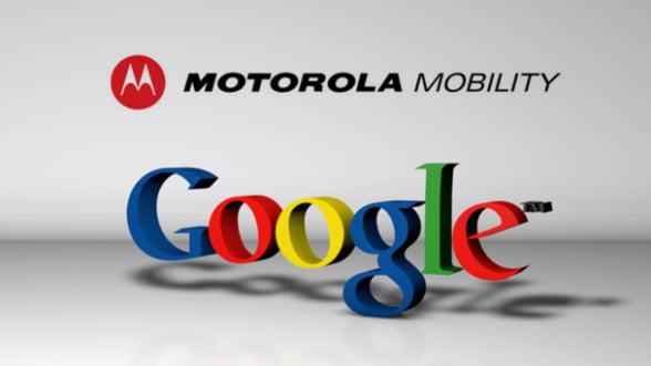 Google a preluat Motorola pentru 12,5 miliarde de dolari