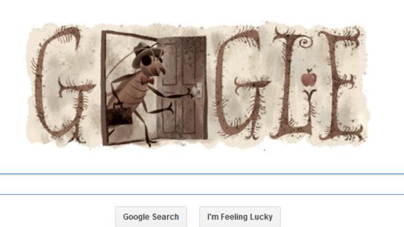 Google aniverseaza 130 de ani de la nasterea scriitorului Franz Kafka