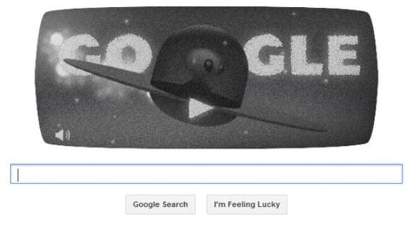 Google aniverseaza 66 de ani de la incidentul OZN de la Roswell cu un logo aniversar