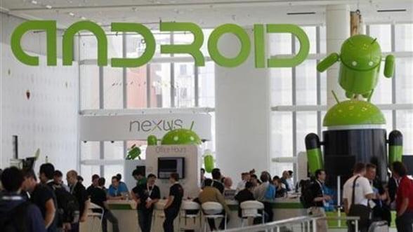 Google bate Apple. Android are o cota de 75% la nivel mondial