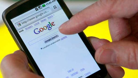 Google castiga jumatate din veniturile provenite din publicitatea pe device-uri mobile