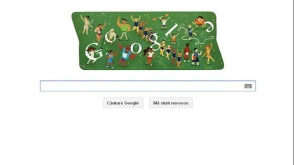 Google celebreaza inchiderea Jocurilor Olimpice de la Londra